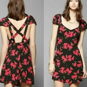 Urban outfitters floral mini dress